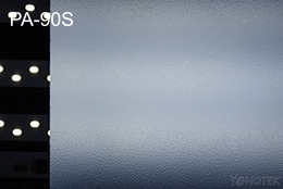 PA-90S matte diffuser plate light effect