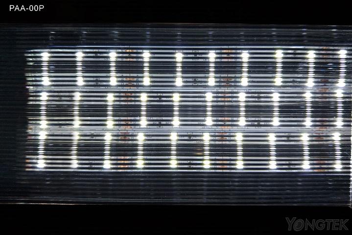 yongtek prism line diffuser plate light effect