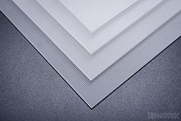 UGR linear diffuser sheet