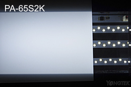 PA-65S2K milky diffuser sheet light effect