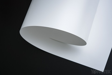 white PET reflector