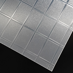 PMMA patterned plate